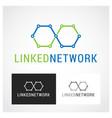 network symbol vector image vector image