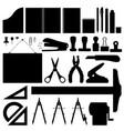 office stationery set office stationery set in vector image