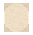 old grunge sheet of paper vector image vector image