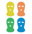 Ski masks vector image