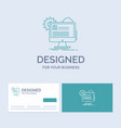 account profile report edit update business logo vector image vector image