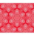 christmas white snowflake seamless pattern vector image vector image