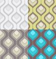 deortive pattern set vector image vector image