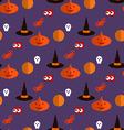 Halloween pattern25 vector image vector image
