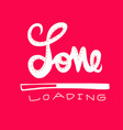 love loading word vector image