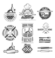 restaurant food vector image vector image