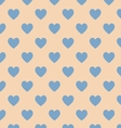 Seamless polka dot brown pattern vector image