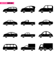 Set of car icon collections vector image
