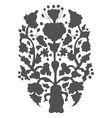 Simple historical decorative ornament Old vector image