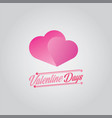 valentine days vector image