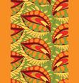 seamless pattern doodling design vector image