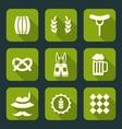 Oktoberfest Symbols vector image