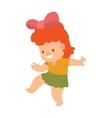 Baby kid vector image