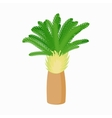 Date palm icon cartoon style vector image vector image