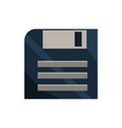 floppy disk office work business equipment icon vector image