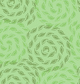 green leves seamless pattern vector image vector image