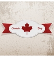 Holiday Graphic Element for Canada Day vector image