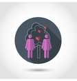 Lesbians iconBe free vector image vector image