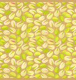 organic seamless texture with pistachios for your vector image