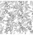 seamless flowers pattern vector image
