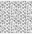 abstract seamless heart pattern ornament vector image