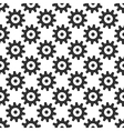 Black gears seamless pattern vector image