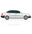 car sedan vector image vector image