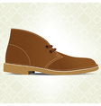 desert boot vector image