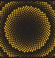 geometric flower background vector image vector image