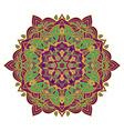 Hand drawing zentangle mandala element in vector image