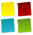 Set of post it notes vector | Price: 1 Credit (USD $1)
