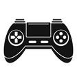toy gamepad icon simple style vector image