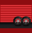 winter tires vector image