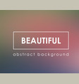 beautiful abstract blur background mockup template vector image vector image