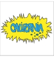 California comic graffity badge