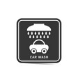 car wash icon element vector image vector image