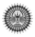 ethnic tattoo 0007 vector image vector image