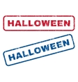 Halloween Rubber Stamps vector image vector image