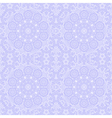 ornamental lace pattern circle background with vector image vector image