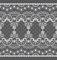 romantic lace seamless pattern retro design vector image vector image