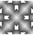 Halftone Square Tiles Seamless Pattern vector image