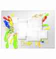 abstract colour vector image vector image
