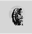 angel child with wings vector image vector image