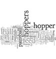 choose your hopper vector image vector image