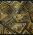 gold color spiral seamless pattern vector image