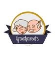 Grandparents vector image vector image
