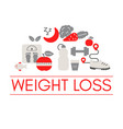 healthy lifestyle concept lifestyle vector image vector image