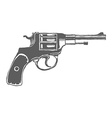 Gun Isolated Design Elements vector image vector image