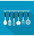 kitchenware utensil cooking tool vector image vector image