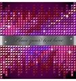 rhinestone mosaic background vector image